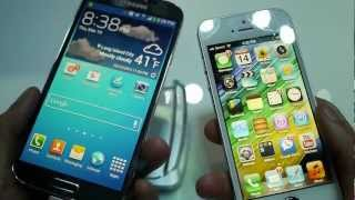 SS Galaxy S4 vs Apple iPhone 5 [H2shop]