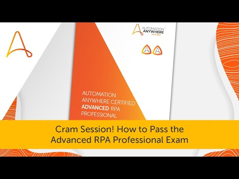 How to Pass the Advanced RPA Professional Exam | Automation ...