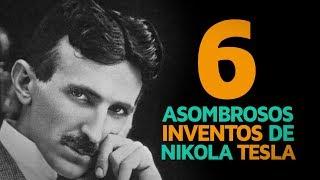 6 Asombrosos Inventos De Nikola Tesla 🤖