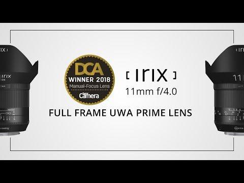 Irix 11mm f/4.0 - key features