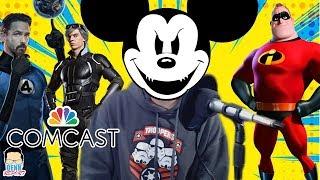 """Disney y Comcast """"subastan"""" por llevarse Fox - Increíbles 2: DEBUT histórico - Aquaman   QR"""
