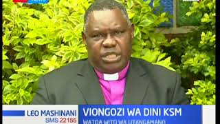 Viongozi wa dini watoa wito wa utangamano mjini Kisumu