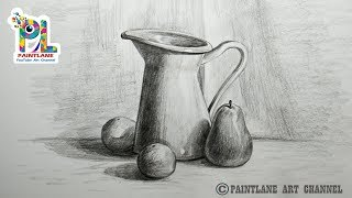 How To Do Pencil Shading In Still Life