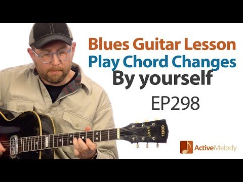 Blues Guitar - How to Play The Chord Changes in the blues - Blues Guitar Lesson - EP298