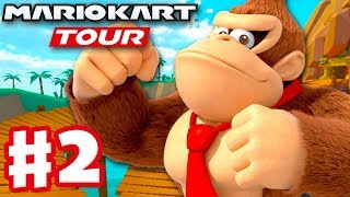 Mario Kart Tour - Gameplay Part 2 - New York Tour Donkey Kong Cup and Yoshi Cup! 200cc! (iOS)