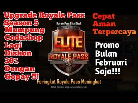 Upgarade Royale Pass Season 5 Mumpung Codashop Ada Promo!!!  - Pubg Mobile Indonesia