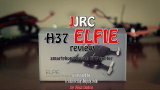 JJRC Elfie H37 smartphone based FPV copter review