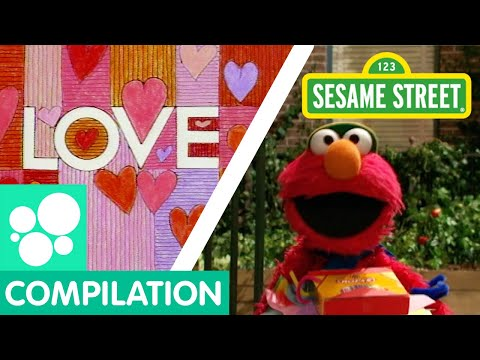 Sesame Street: Elmo Loves You and More Clips about LOVE! | Love Compilation