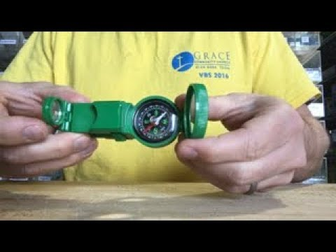 Optic One Tools | Toy Compass | Magnifying Lens | Binoculars | Signal Mirror Stereoscope | Unboxing