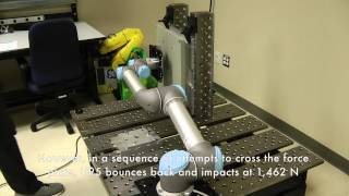Safety analysis of Universal Robots' UR5 robot arm