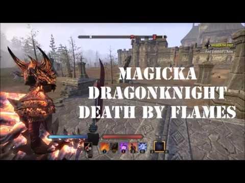 Magicka Dragonknight is NOT dead this patch! — Elder Scrolls Online