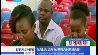 Wanahabari waombea amani wakati wa uchaguzi
