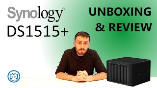 The Synology DS1515+ - Unboxing and review - with SPANTV