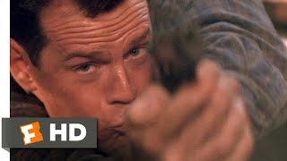 Die Hard 2 (1990) - Skywalk Shootout Scene (1/5)   Movieclips