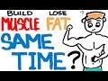 Build Muscle and Burn Fat at the Same Time  Is it Possible to Lose Weight and Bulk Up