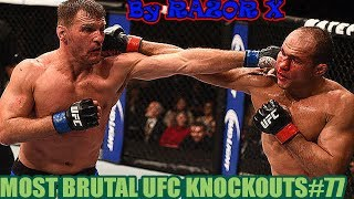 NEW MOST BRUTAL UFC KNOCKOUTS COMPILATION # 77 BELLATOR MMA 2017  САМЫЕ ЖЕСТОКИЕ НОКАУТЫ