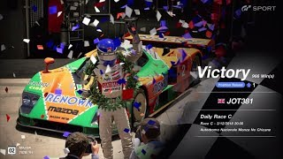 JOT381 GRAN TURISMO SPORT 031218 MONZA NC MAZDA 787B 2nd to 1st ONLINE RACE 11 LAPS 966th WIN