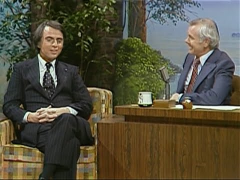 Carl Sagan discussing only having white characters in Star Wars - Johnny Carson show 1978