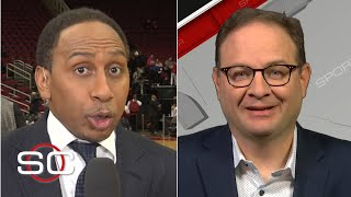 Woj gives Stephen A. an update on the New York Knicks drama   SportsCenter with Stephen A. Smith