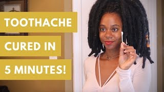 How to Cure a Toothache FAST Naturally