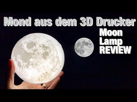 Mond aus dem 3D Drucker - Erstaunlische Dekoleuchte im Test Review