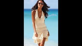 Пляжное Платье Крючком - 2017 / Beach Hook Dress / Strand-Kleid-Haken