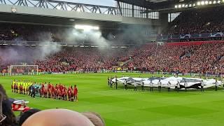 You'll Never Walk Alone   Liverpool V Barcelona Champions League Semi Final Second Leg