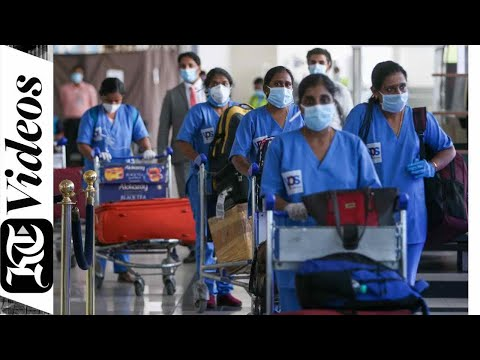 105 Medical specialists arrive in UAE from India