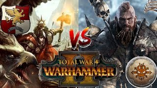 Empire vs Norsca   THE SAVAGE NORTH MARCHES - Total War Warhammer 2