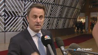 Luxembourg PM: UK leader May did best possible deal | Street Signs Europe