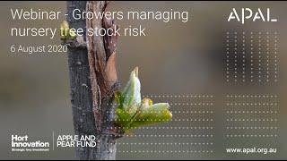 Growers Managing Nursery Tree Stock Risk (webinar recording)