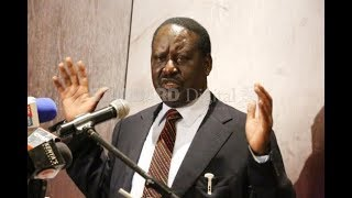 Raila Odinga speaks on meeting with IEBC Chair Wafula Chebukati