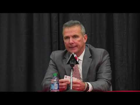 Ohio State coach Urban Meyer abruptly announced his retirement Tuesday, citing health reasons and a difficult year. He will step down after the Rose Bowl. (Dec. 4)