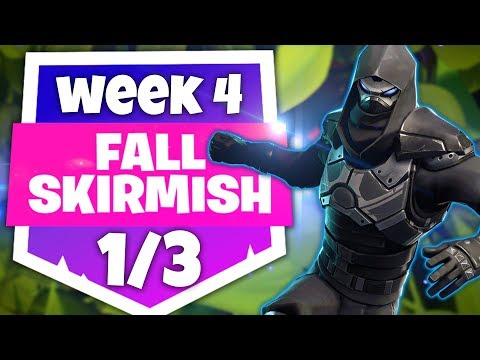 WEEK 4 FALL SKIRMISH 1/3