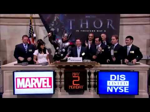 2 May 2011 Marvel Entertainment's Thor rings the NYSE Closing Bell | MTW