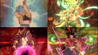 #3 Gogeta Vs Broly/Demon God Gogeta Vs Xeno Broly (Dragon Ball Z: Parallel World 2) -DBXV2