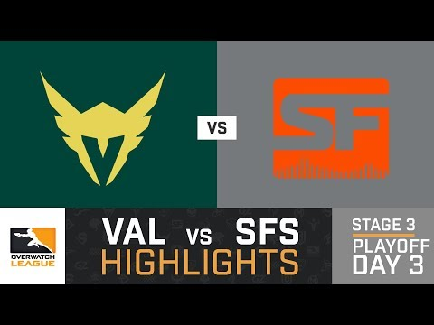 HIGHLIGHTS LA Valiant vs. SF Shock | Stage 3 | Playoffs | Day 3 | Overwatch League