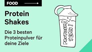 Protein Shake: Die 3 besten Proteinpulver für deine Ziele