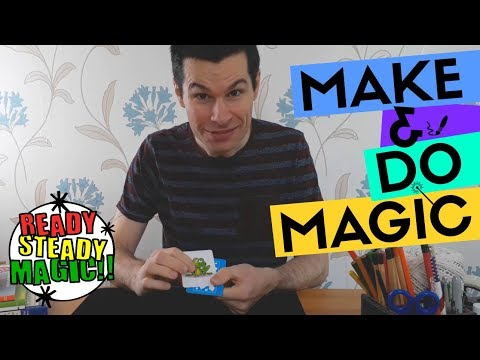 Two Card Monte | Make & Do Magic | Ready Steady Magic