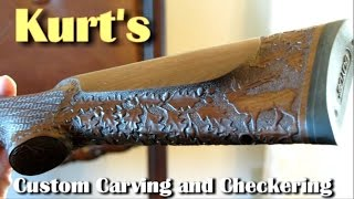 Turn Your Old Gunstock Into A MAGNIFICENT Piece Of ART  Rex Reviews