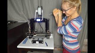 Приехал 3D принтер, пятничный стрим на новой волне ))