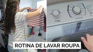 ROTINA DE LAVAR ROUPA | Vlog #106 | Lia Camargo para Electrolux