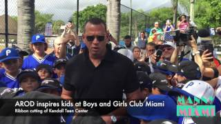 VIDEO:  AROD Inspires Kids in Kendall
