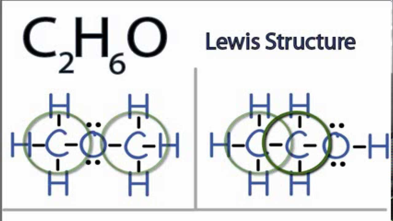 Video c2h6o lewis structure how to draw the lewis structure for c2h6o pooptronica