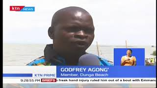 Lwang'ini beach traders have moved to Dunga to pave a way for the Kisumu Port expansion