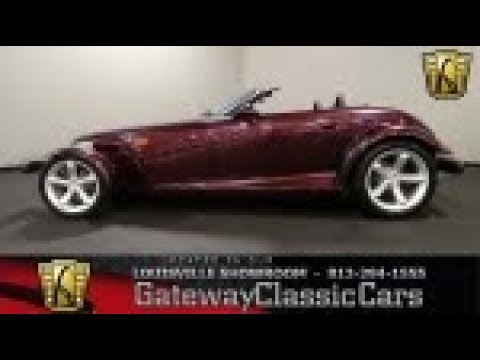 1999 Plymouth Prowler for Sale - CC-1041276