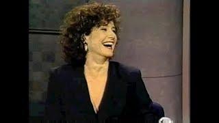 Debra Winger on Late Night, November 30, 1990