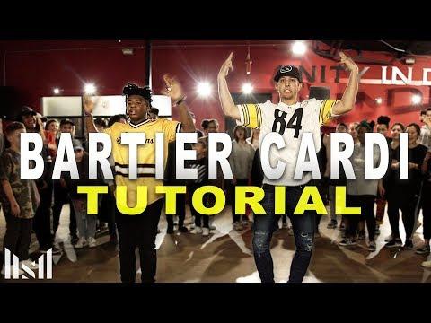 BARTIER CARDI - Cardi B ft 21 Savage Dance TUTORIAL || Matt Steffanina | DANCE TUTORIALS LIVE