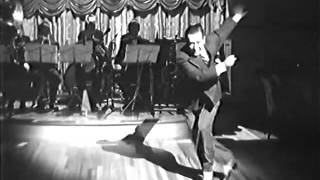 George Raft's signature Sweet Georgia Brown routine in Broadway (1942)
