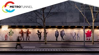 Metro Tunnel Creative Program: Year in review